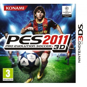 Pro Evolution Soccer 2011 3D [3DS]