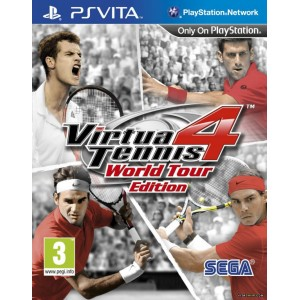 Virtua Tennis 4 : World Tour Edition [Vita]