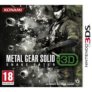 Metal Gear Solid : Snake Eater 3D [3DS]