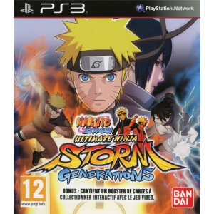 Naruto Ultimate Ninja Storm Generations [PS3]
