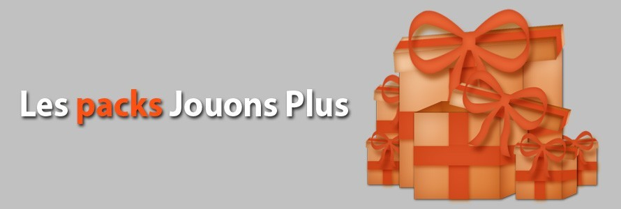 Pack Jouons Plus