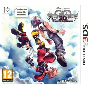 Kingdom Hearts : Dream Drop Distance 3D [3DS]