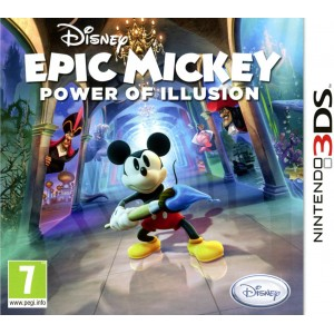 Disney Epic Mickey : Power of Illusion [3DS]