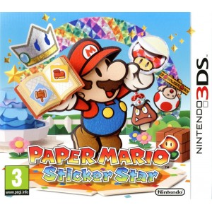 Paper Mario : Sticker Star [3DS]