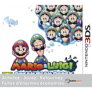 Mario et Luigi Dream Team Bros [3DS]