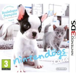 Nintendogs + Cats Bouledogue Français & ses Nouveaux Amis [3DS]