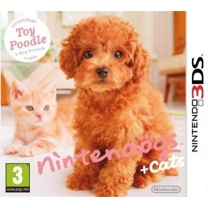 Nintendogs + Cats Caniche Toy & ses Nouveaux Amis [3DS]