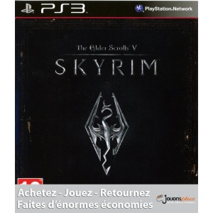 The Elder Scrolls V : Skyrim [PS3]