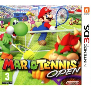 Mario Tennis Open [3DS]