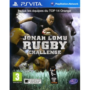Jonah Lomu Rugby Challenge [Vita]
