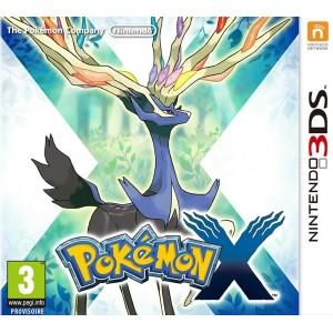 Pokémon X pas cher sur 3DS