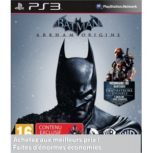 Batman : Arkham Origins pas cher sur PS3